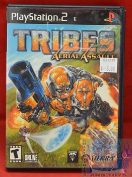 Tribes Aerial Assault Game PS2