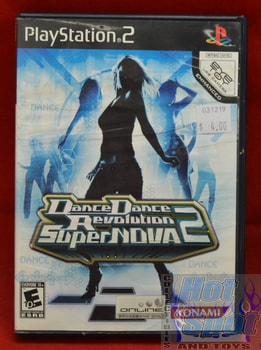 Dance Dance Revolution 2 Super Nova Game
