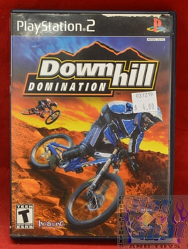 Downhill Domination Game