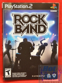 Rock Band Slip Cover