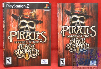 Pirates Legend of the Black Buccaneer Instructions Booklet and Slip Cover