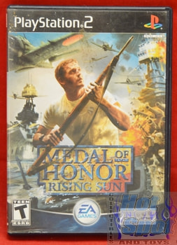 Medal of Honor Rising Sun CASE ONLY
