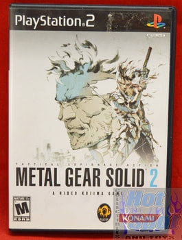 Metal Gear Solid 2 CASE ONLY