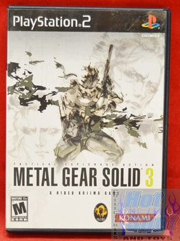 Metal Gear Solid 3 CASE ONLY