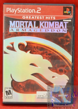Mortal Kombat Armageddon CASE ONLY