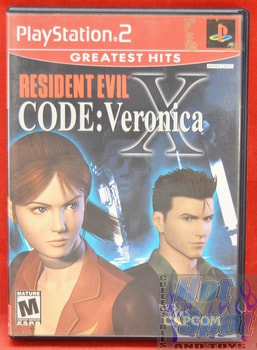 Resident Evil Code: Veronica X CASE ONLY