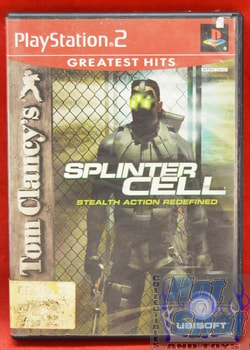 Tom Clancy's Splinter Cell CASE ONLY