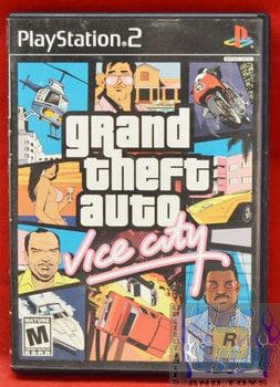 Grand Theft Auto Vice City CASE ONLY