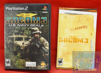 SOCOM 3: U.S. Navy Seals CASE ONLY