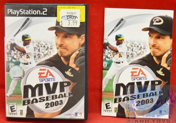 MVP Baseball 2003 CASE ONLY