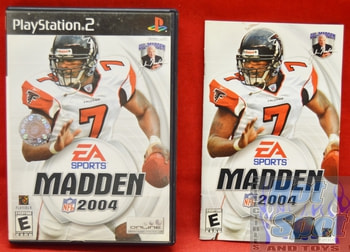 Madden 2004 CASE ONLY
