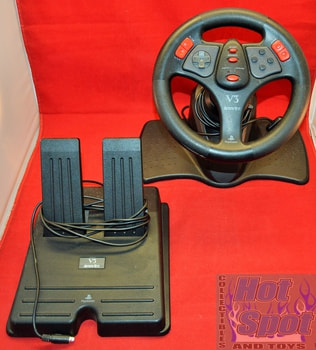 Steering Wheel and Pedal