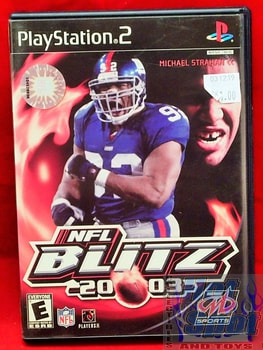 NFL Blitz 2003 Game