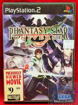 Phantasy Star Universe Game