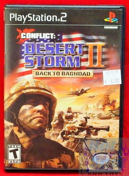Conflict Desert Storm 2 Back to Baghdad Game