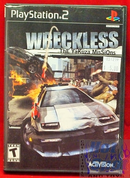 Wreckless: The Yakuza Missions Game
