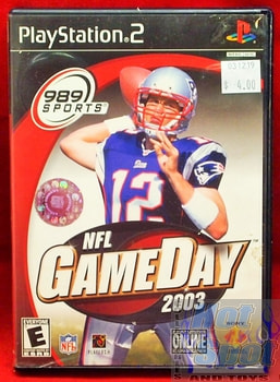 NFL Game Day 2003 Game