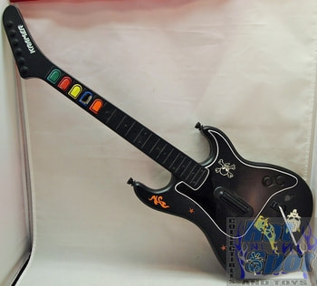 Black Guitar Hero Guitar