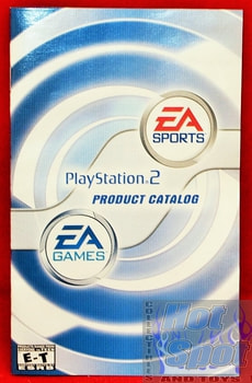 EA Sports Playstation 2 Product Catalog