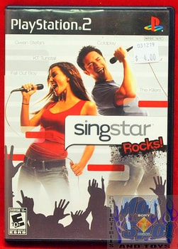 Sing Star Rocks! Game