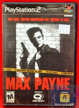 Max Payne Game PS2
