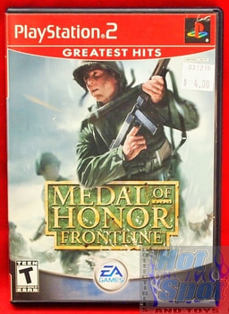 Medal of Honor Frontline Game Greatest Hits