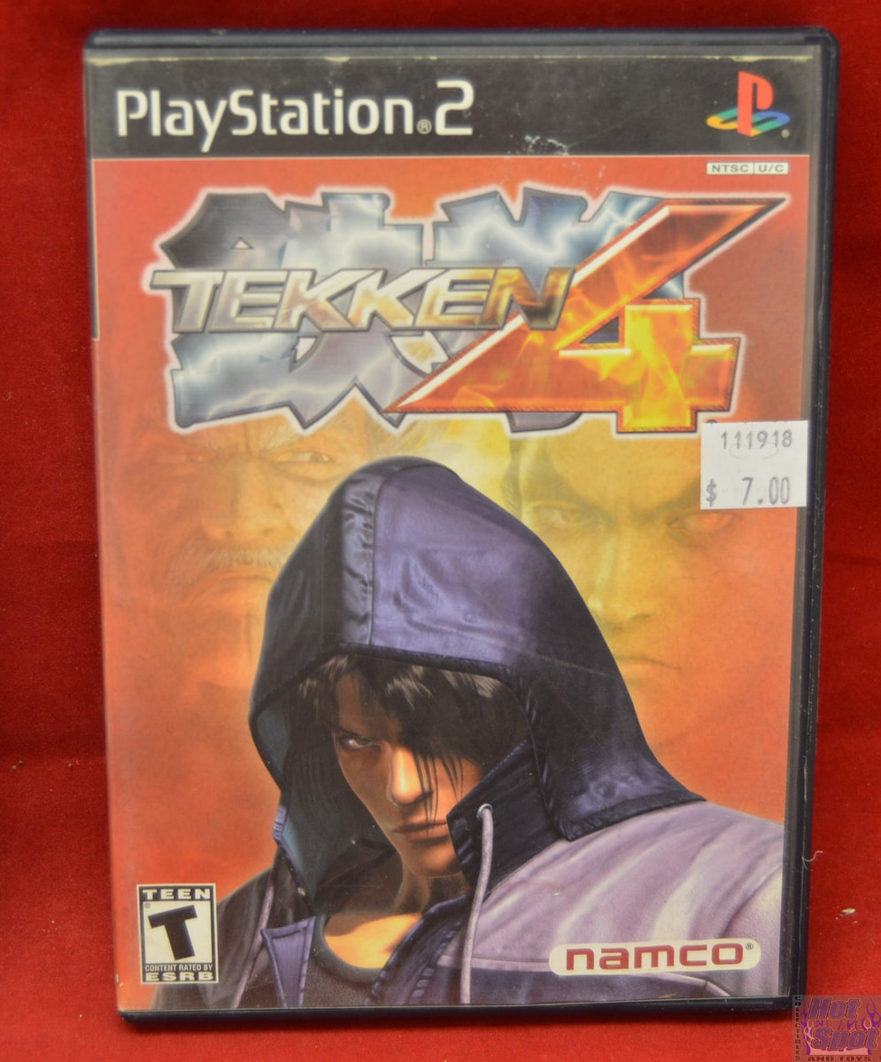 Hot Spot Collectibles And Toys Tekken 4 Game