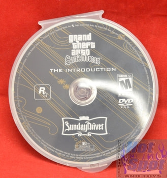 Grand Theft Auto San Andreas The Introduction Game DISC ONLY PS3