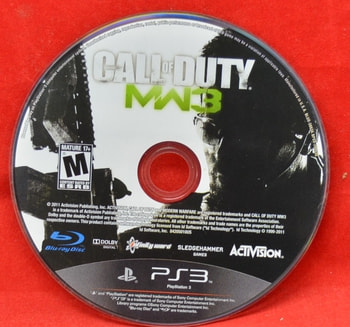 Call of Duty MW3 Disc Only