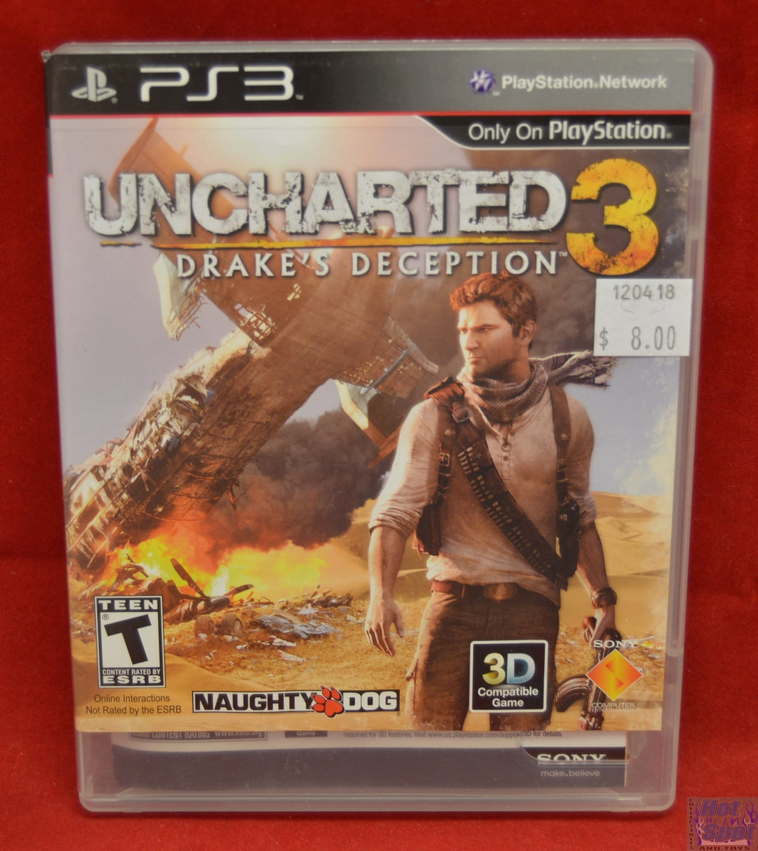 Hot Spot Collectibles And Toys Uncharted 3 Drake S Deception Game