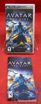 James Cameron's Avatar the Game Case & Manual