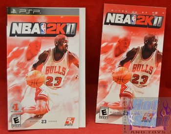 NBA 2K11 Instructions Booklet and Slip Cover