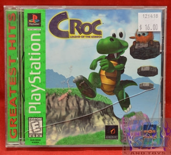 Croc Legend of the Gobbos Game Playstation