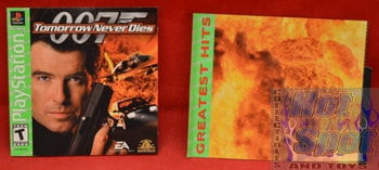 007 Tomorrow Never Dies Instructions Booklet and Slip Cover