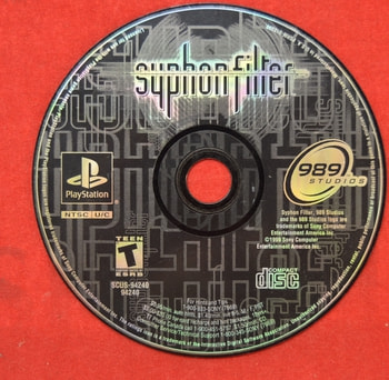 SyphonFilter Game Disc Only