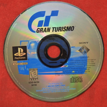 Gran Turismo Game Disc Only