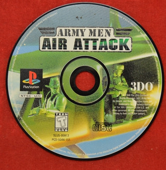 Army Men Air Attack Game Disc Only