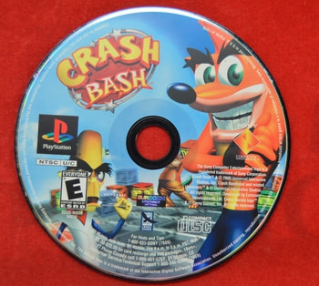 Crash Bash Game Disc Only