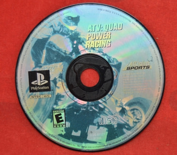 ATV; Quad Power Racing Game Disc Only