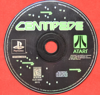 Centipede Game Disc Only