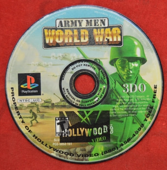 Army Men World War Game Disc Only