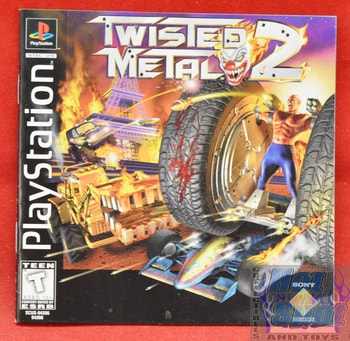 Twisted Metal 2 BOOKLET ONLY