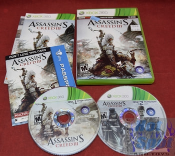 Assassin's Creed III Xbox 360