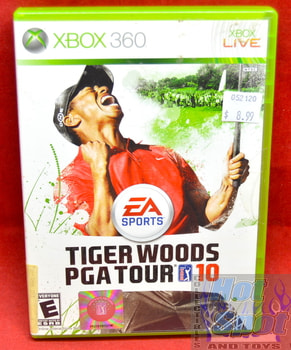 Tiger Woods PGA Tour 10 Game & Original Case