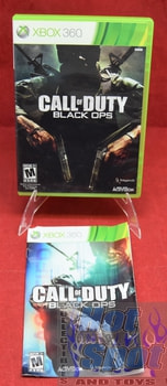 Call of Duty Black Ops Original Case & Booklet