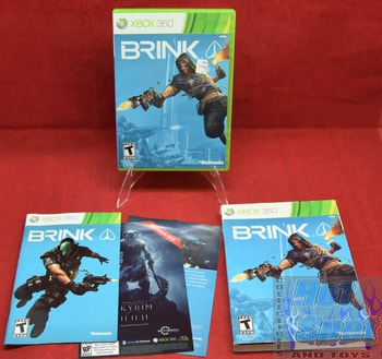 Brink Original Case, Booklet, & Inserts w Case Cover
