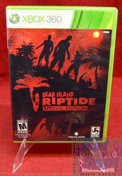 Dead Island Riptide Special Edition Original Case ONLY