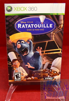 Disney Pixar Ratatouille Instruction Booklet