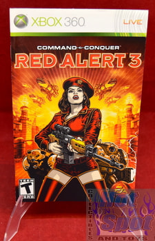 Command & Conquer Red Alert 3 Instruction Booklet