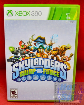 Skylanders Swap Force Game & Original Case